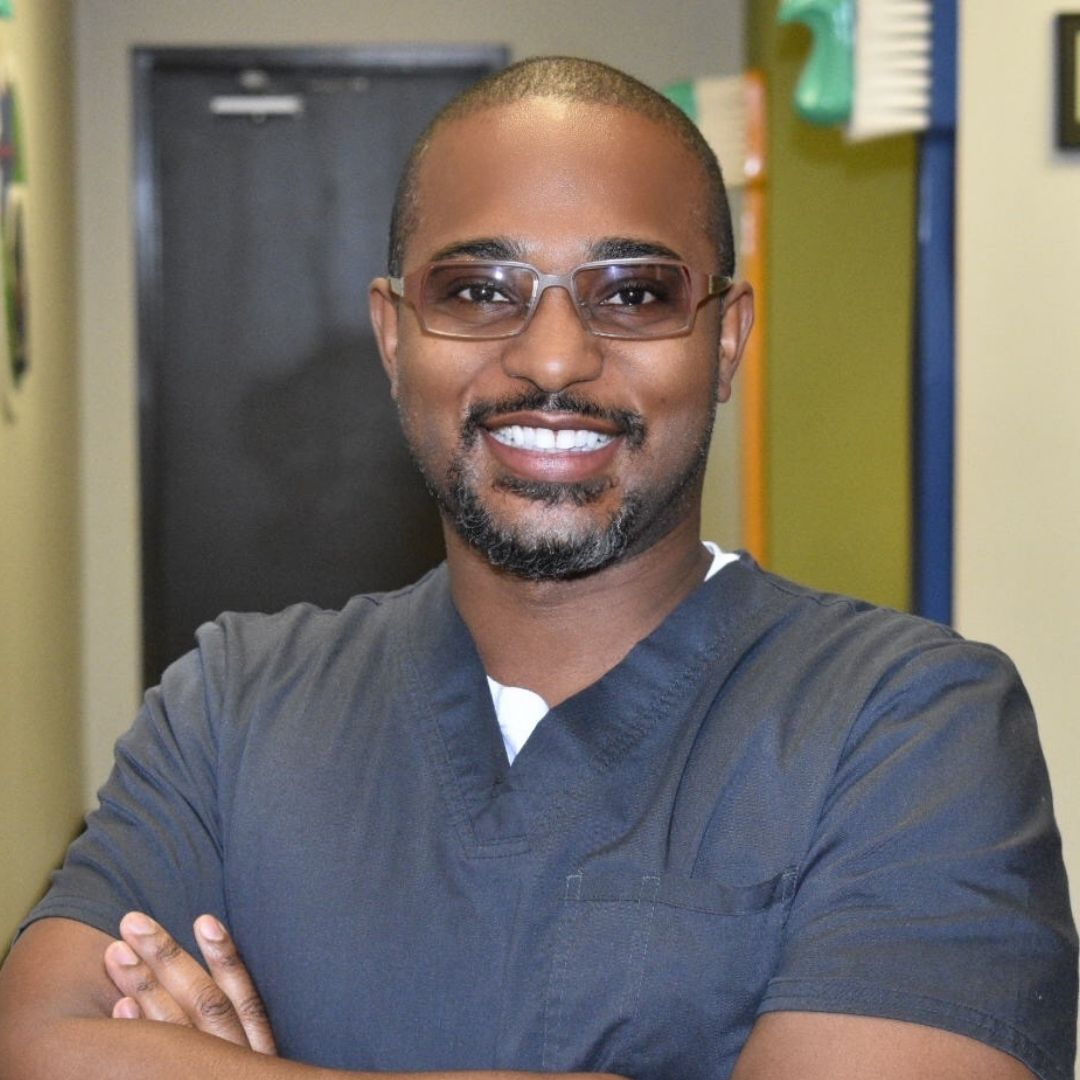 Dr. Cook enjoys being a dentist at EP Dentistry 4 Kids